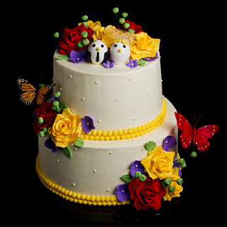 garden theme wedding cake Costco bakery cake order forms us and uk addicted to costco